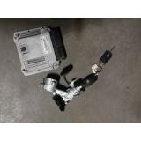 Mootori juhtaju ja süütekomplekt + võti Opel Insignia 2011 2.0 TD E9155577619 55575349 13504286 20939745 13326419